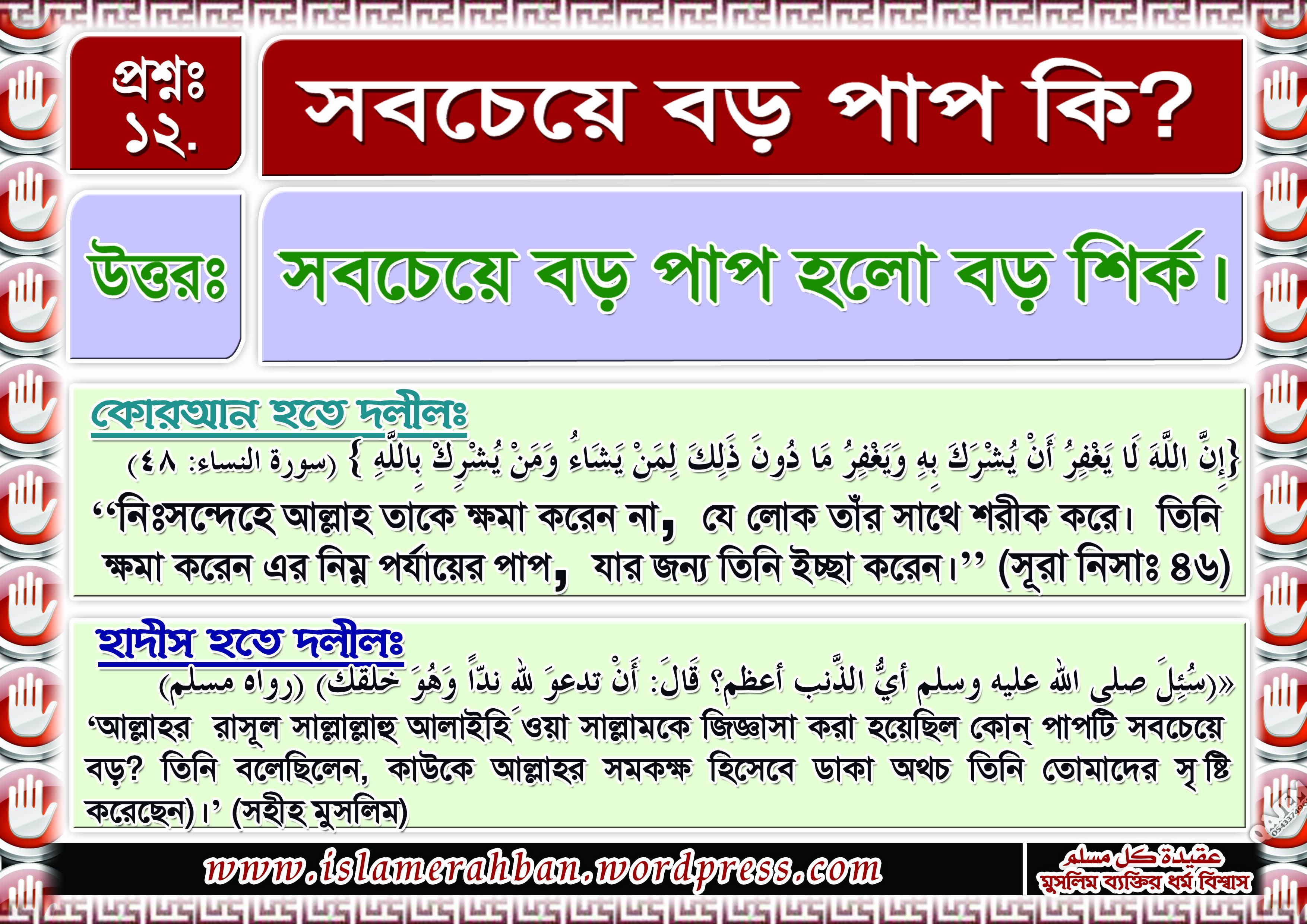 Muslimer Aqidah-12