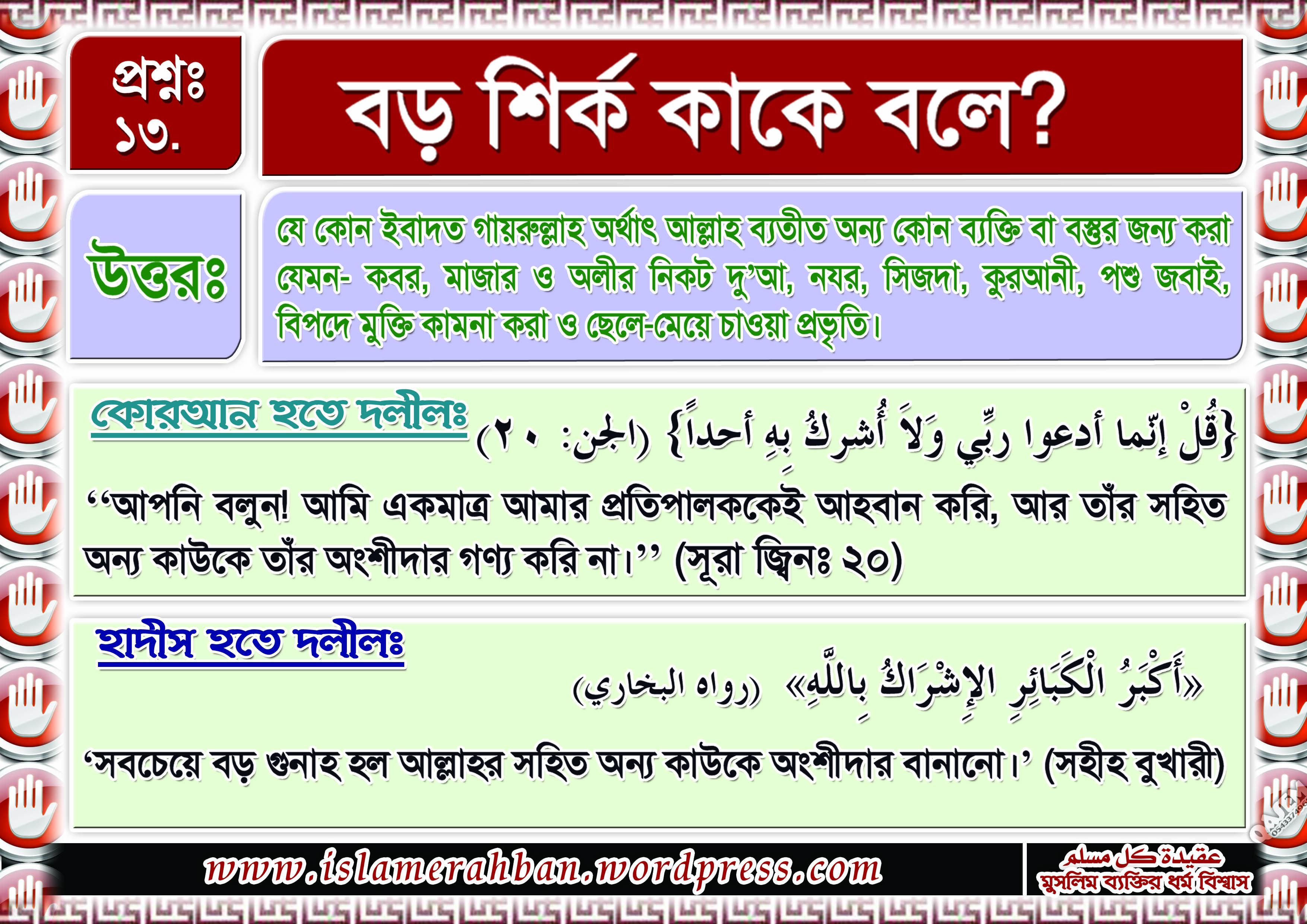 Muslimer Aqidah-13