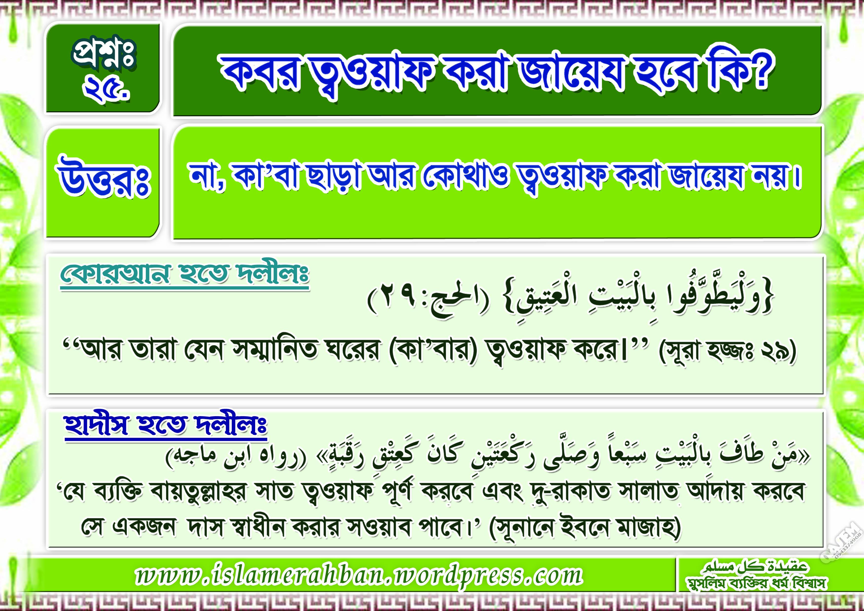 Muslimer Aqidah-25